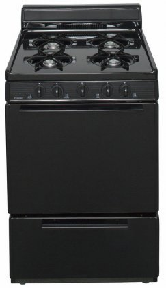 Premier-BCK100BP-Black-ADA-Compliant-24-Cordless-Battery-Spark-Gas-Range-with-3-Cu-Ft-Capacity-Four-Cooktop-Burners-Lift-Up-Top-4-Porcelain-Backguard-and-17-000-BTU-Oven
