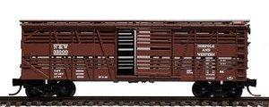 Micro Trains N 35150, 40' Despatch Stock Car, Norfolk & Western N&W #33000 (N Scale)
