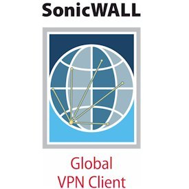 SonicWALL Global VPN Client Windows - 10 License
