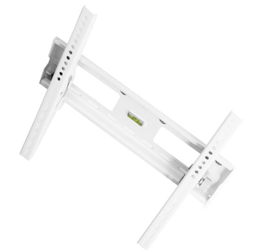 VESA LCD Wandhalterung Wandhalter TV Halterung Halter weiß neigbar für Philips 37PFL5405H/12 37PFL5604H/12 39PFL3008K/12 39PFL3208K/12 39PFL4208K/12 37PFL7515H/12 37PFL7606K/02 37PFL8605K/02 37PFL8694H/12 37PFL8404H/12 37PFL7605H/12 37PFL9604H/12