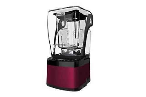Blendtec Countertop Stealth 875 Blender w/90 oz WildSide Jars - S875C2904-B1GB1D (Pomegranate)
