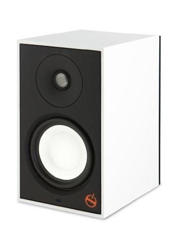 Paradigm Shift Series A2 Fully Powered Bookshelf Speaker - Each (Polar White Gloss)
