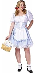Adult Plus Size Sexy Dorothy Costume (Size: 22-24)