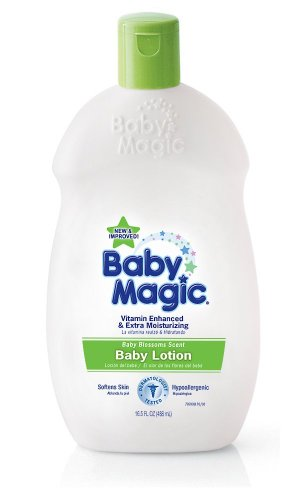 Imagen de Baby Magic Blossoms Loción, 16.5-Ounce Bottles (Pack de 6)