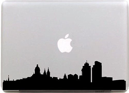 vati-leaves-removable-creative-empire-state-building-decal-sticker-skin-art-black-for-apple-macbook-