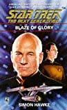 Simon Hawke Blaze of Glory (Star Trek: The Next Generation)