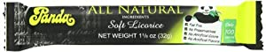 Panda All Natural Licorice Bar, 1.1 Ounce (Pack of 36)