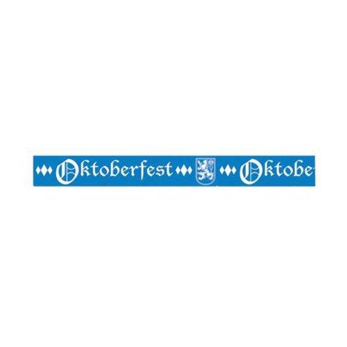 Oktoberfest Party Tape Party Accessory (1 count) (1/Pkg)