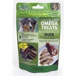 Cardinal Laboratories Pet Botanics Healthy Omega Treats, Duck 6 Ounces