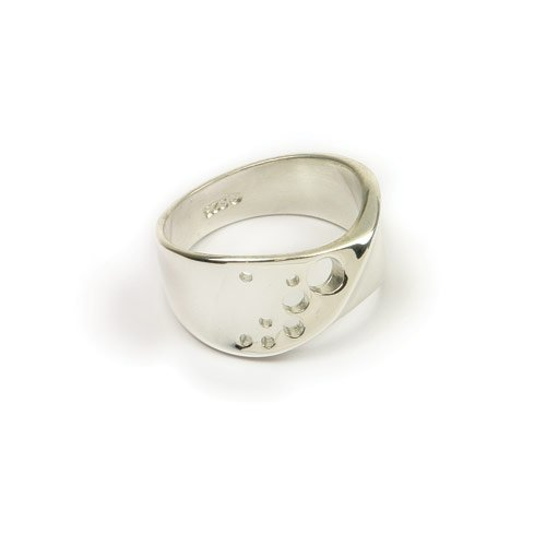 Ortak Jewellery Sterling Silver R 349 Ring -