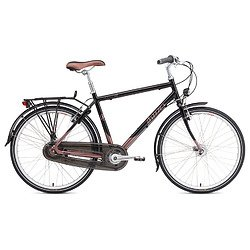 Breezer Uptown Infinity Complete Bike Black Satin / Copper Brown L (21.5-Inch)
