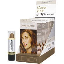 Best Cheap Deal for Cover Your Gray Hair Color Stick Medium Brown (Pack of 6) by Fiske Industries, Inc. - Free 2 Day Shipping Available