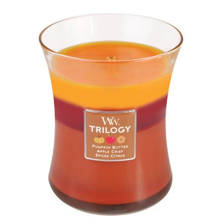 WoodWick Trilogy Orchard Harvest Medium Candle