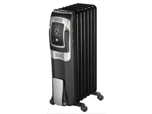 Honeywell 7 Fin Oil Filled Radiator Heater With Digital Controls, Hz-709