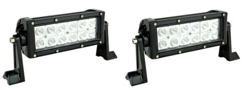 "Ledstore 2X 36W Led Light Bar Worklight Atv 4X4 Jeep Offroad Boat Tractor Trailer 7"" (Pack Of 2)"