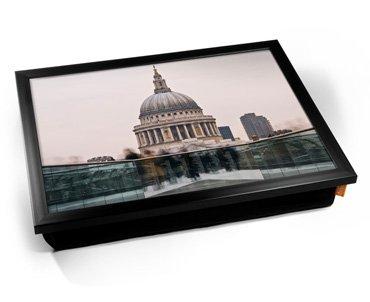 London's St Paul Cushion Lap Tray