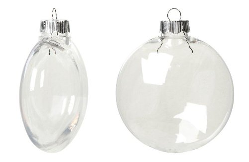 Clear Plastic Christmas Ornaments Wholesale