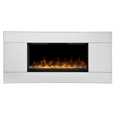 Dimplex Dwf24A-1329 Reflections Wall-Mounted Fireplace, Mirror
