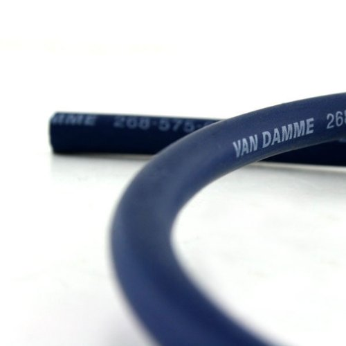 Van Damme Professional Blue Series Studio Grade 2 x 6 mm (10AWG) - 15M Speaker Cable