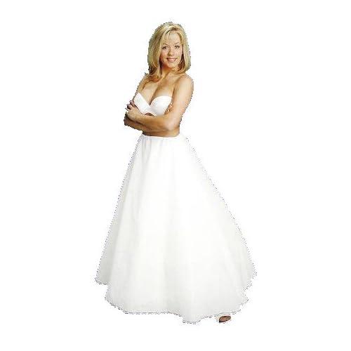 New A-Line Full Bridal Petticoat Crinoline Wedding Gown Slip (106DS