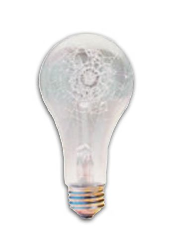 Images for 60 Watt A19 Rough Service Tough Coated Incandescent Light Bulb