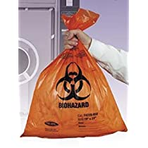 Autoclavable Biohazard Bags, 2.0mil (Case of 400)