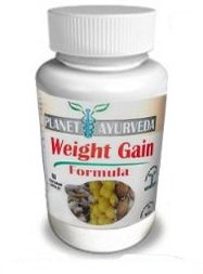 (60 TABLETS) - GAIN WEIGHT PILLS - Planet Ayurveda. (GAIN WEIGHT FAST) - Weight Gain Plus Increase Appetite Enhancer / Appetite stimulant with Herbal Extracts - Weight Gain Pills - Weight Gain Supplement is the safest weight gainer. Weight Gainer Pills Fo