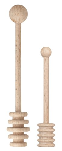 Great Features Of HIC Wooden Honey Dipper Set