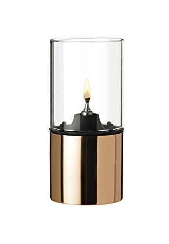 Stelton 1005 Classic Oil Lamp Copper and Clear Glass (Copper Oil Lamp compare prices)