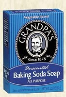GRANDPA'S BRANDS, Baking Soda Soap - 3.25 oz ( Multi-Pack) (Baking Soda Bar compare prices)