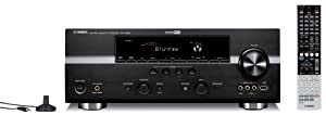 Yamaha RX-V1065BL 7.2-Channel Digital Home Theater Receiver (Discontinued by Manufacturer)