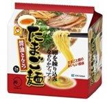 マルちゃん たまご麺 【醤油とんこつ】 (5食パック)