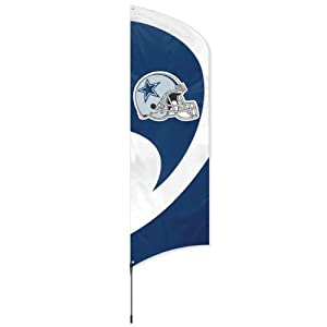 Party Animal Dallas Cowboys Tall Team Flag by Party Animal