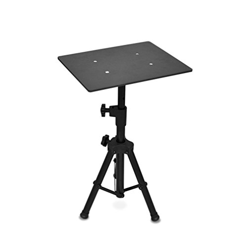 Pyle Laptop Projector Stand, Heavy Duty Tripod Height Adjustable 16