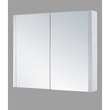 "36"" x 29"" Surface Mount Flat Medicine Cabinet Finish: Glossy White"
