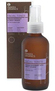 Pangea Organics Facial Toner, French Rosemary With Sweet Orange, 4-Ounce Box from Pangea Organics