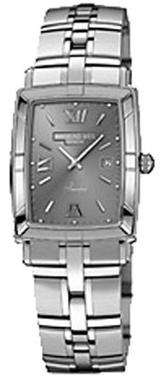 Raymond Weil Parsifal Watch with Grey Dial and Stainless Steel Bracelet 9341-ST-00607