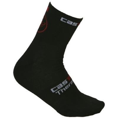 Buy Low Price Castelli 2011/12 Logo Winter Cycling Sock – Black – R7574-010 (B001JPM0BC)