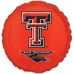 "18"" Texas Tech Foil Balloon"