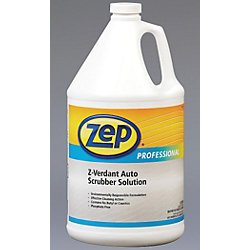 Z-Verdant Auto Scrubber Solution Concentrate - 4-1Gallons