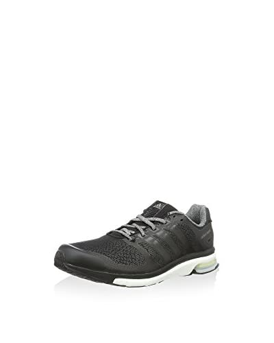 adidas Zapatillas de Running Adistar Boost M Glow Negro / Gris