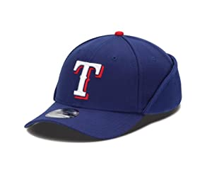 MLB Texas Rangers Authentic Collection Downflap 39Thirty Flex Fit Cap by New Era