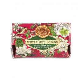 Michel Design Works Triple Milled Bath Soap Bar, White Christmas, 9 Ounce