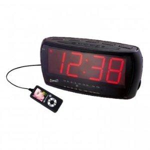 Supersonic Sc373 Digital Jumbo Alarm Clock Radio