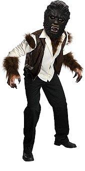 Wolfman Child's Deluxe Costume, Medium
