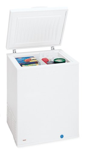 Frigidaire FFC0522DW 5-Cubic-Foot Manual-Defrost Chest Freezer, White