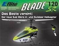 E-Flite Blade 120 SR 2,4Ghz BNF