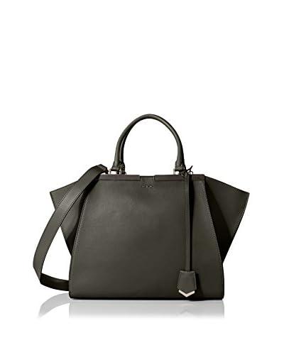 Fendi Women's 3Jours Tote Bag, Dark Green