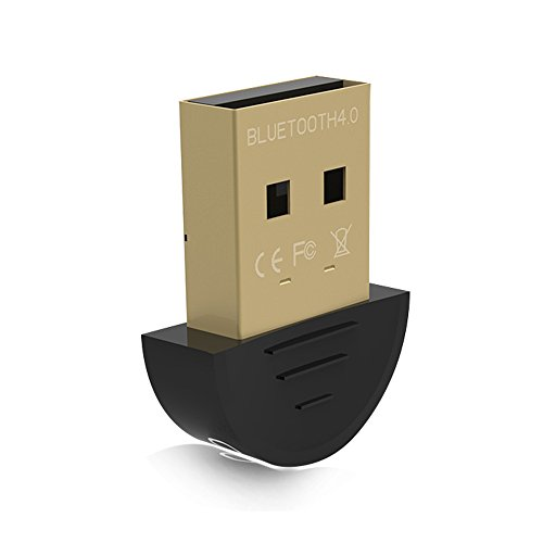 tikitaka Adaptateur Mini USB dongle bluetooth v4.0Dual Mode sans fil Dongle RSE 4.0pour ordinateur PC Portable Win XP WIN7/8Téléphone