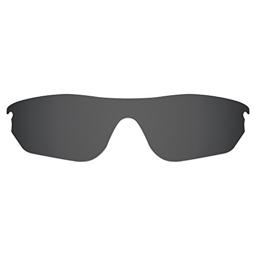Dynamix Polarized Replacement Lenses for Oakley RadarLock Edge Sunglasses - Multiple Options Available (Solid Black - Polarized) (Radarlock Edge compare prices)